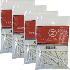 69MM ZERO FRICTION GOLF TEE 75 STK 4 POSER