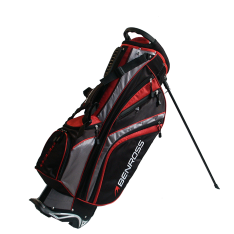 BENROSS SPEED 2 SORT/RØD STAND BAG