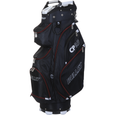 "Bullet 9½"" Cart Bag Sort/Rød"