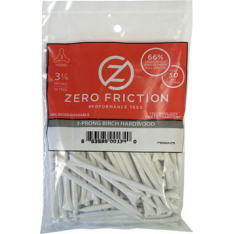 84MM ZERO FRICTION GOLF TEE 50 STK