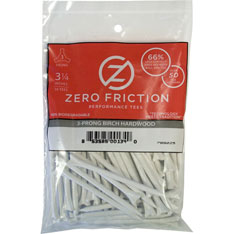 69MM ZERO FRICTION GOLF TEE 75 STK