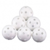 PLASTIC HOLLOW BALLS 6 PIECES